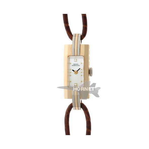 オープニング 大放出セール GIRARD-PERREGAUX ジラールペルゴ ヴィンテージ レディ バケット 手巻 750YG / WG レディース 時計, santorini925 1ad97ce4