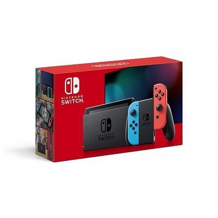 新モデル 新品 在庫あり Nintendo Switch ニンテンドースイッチ Joy-Con L ネオンブルー R ネオンレッド|hoshigulf-1