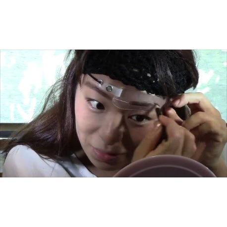 眉毛テンプレートMAYU美 女性用 A-29 今田美桜 さん タイプ (固定具別売り)|hosinoya|07