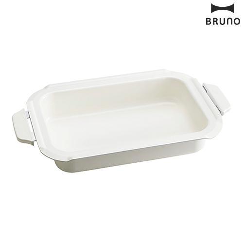 ブルーノ 期間限定特価品 ホットプレート用 セラミックコート鍋 高い素材 BRUNO コンパクトホットプレート オプション 深鍋 シチュー 鍋 煮物 セラミックコート