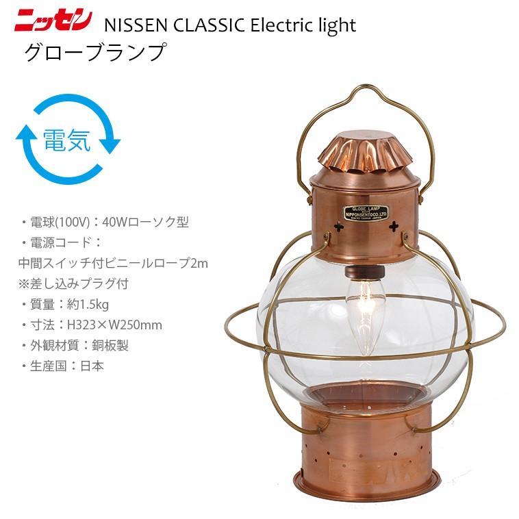 ns5 日本船燈 グローブランプ ニッセン 電気灯 マリンランプ 門灯