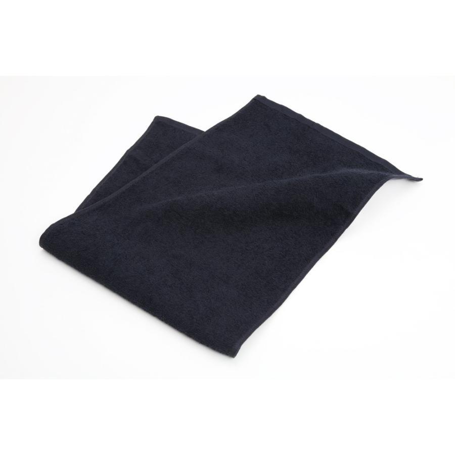 220匁スレン染めフェイスタオル ブラック 300枚