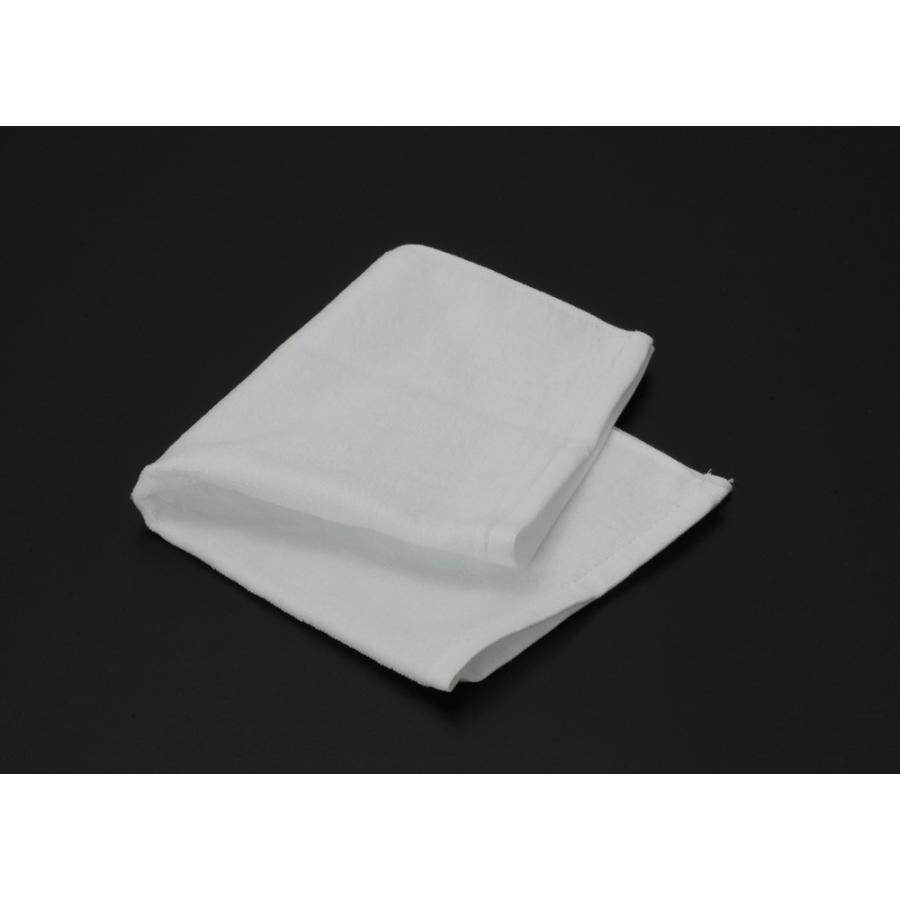 シャーリングハンドタオル(ヘム付)白 400枚
