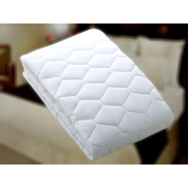 ホテル ベッドパッド/ホテル仕様抗菌防臭ベッドパッド Q2(クイーン2)サイズ|hotelbed