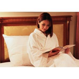 ホテルピロー(枕)大きいサイズ クッションや背もたれにもなる大きなマクラ(ホテルまくら大サイズ)◆日本製|hotelbed