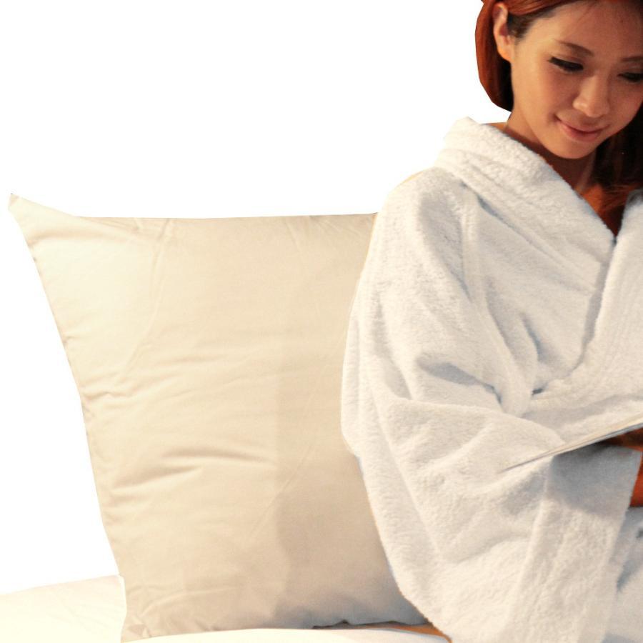 ホテルピロー(枕)大きいサイズ クッションや背もたれにもなる大きなマクラ(ホテルまくら大サイズ)◆日本製|hotelbed|02