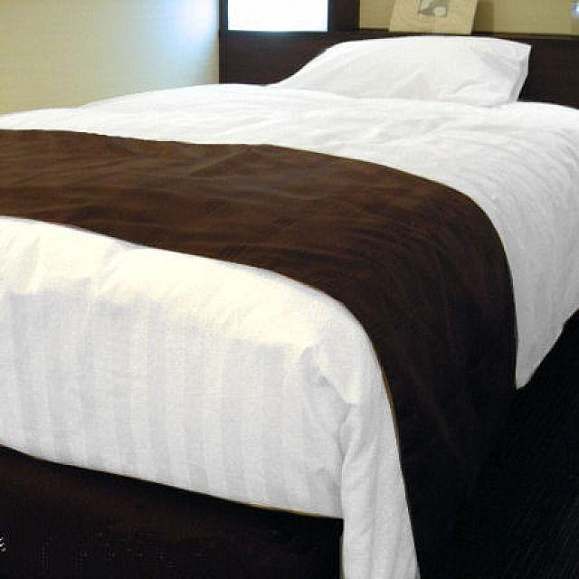 ベッドスロー いつもは高級ホテル向けにお納めしているベッドライナーをご自宅にもお届け (日本製) D ダブルサイズ hotelbed