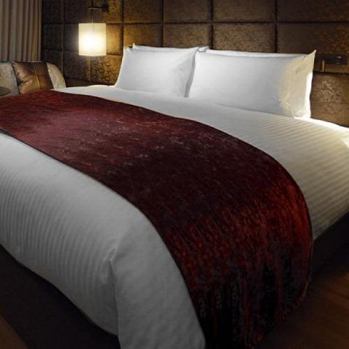 ベッドスロー いつもは高級ホテル向けにお納めしているベッドライナーをご自宅にもお届け (日本製) D ダブルサイズ hotelbed 06