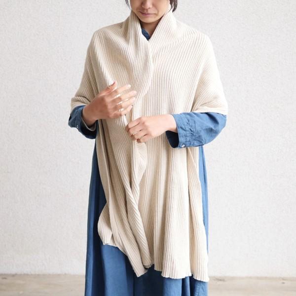 【麻布樂】エシカルヘンプニット編み柔らかブランケット ミニサイズ 貴重なエシカルヘンプの糸を贅沢使用 麻100%(ヘンプ) 無地