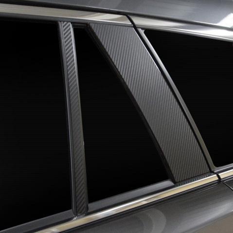 マジカルアートシート ピラー ノーマルカット MAZDA6 ワゴン GJ系 R1.8〜 カーボン調シート【ブラック】 ハセプロ MS-PMA36|hotroadparts|04