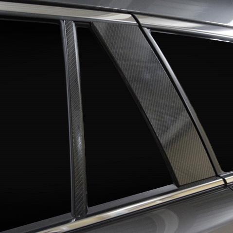 マジカルアートシートNEO ピラー ノーマルカット MAZDA6 ワゴン GJ系 R1.8〜 カーボン調シート【ブラック】 ハセプロ MSN-PMA36|hotroadparts|04