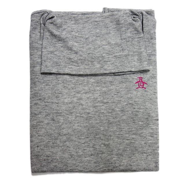 マンシングウェア レディース タートルネックシャツ 日本製 カットソー 長袖 グレー 無地 2018年秋冬新作 MGWMGB01