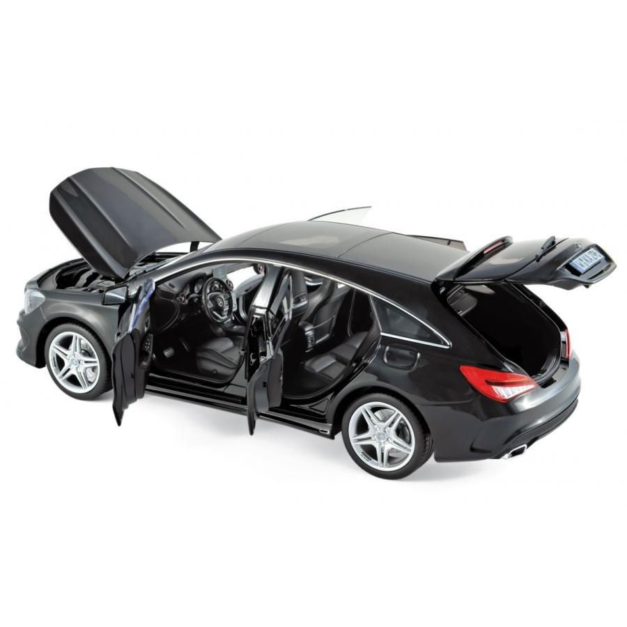 ミニカー Norevノレブ 1/18 メルセデス・ベンツ CLA シューティングブレイク ブラック  1/18 ノレブ新製品 183598  予約商品