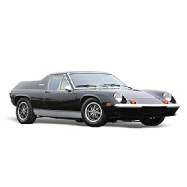全長50cm 超精密 ミニカー 1/8 巨大超精密 1975 ロータス・ヨーロッパ TYPE74 JPS 黒  限定予約商品 hottoys-c2
