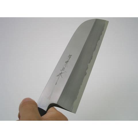堺味正作本霞白鋼鎌型薄刃包丁195mm|houcho|02