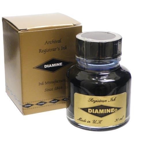 ダイアミン DIAMINE 没食子ブルーブラックインク 30ml|hougado