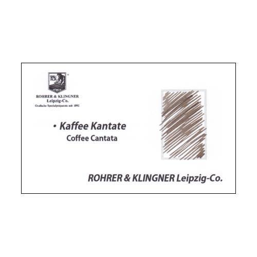 ローラー&クライナー ROHRER & KLINGNER ライティングインク コーヒーカンタータ 特別限定色 50ml RYZSET|hougado|03