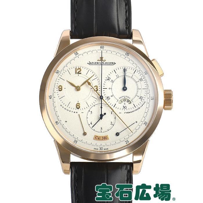 【待望★】 ジャガー・ルクルト JAEGER LECOULTRE デュオメトル クロノグラフ Q6012420  メンズ 腕時計, 水谷商会 15eccd0c