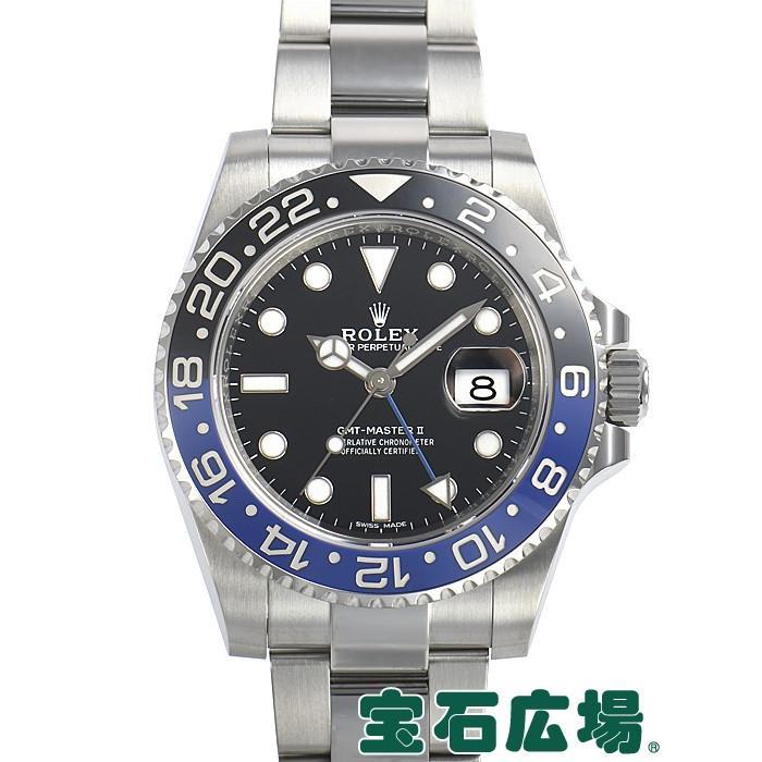 【オンラインショップ】 ロレックス ROLEX GMTマスターII 116710BLNR  メンズ 腕時計, ライフサポート ハマヤ 1e466d5a