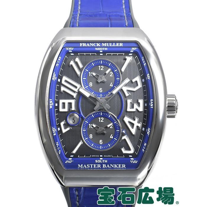 2019年最新入荷 フランク・ミュラー ヴァンガード マスターバンカー メンズ 世界限定50本 腕時計 V45MBSCDTACBL 新品 メンズ ヴァンガード 腕時計, ファーストコンタクト:da909992 --- airmodconsu.dominiotemporario.com