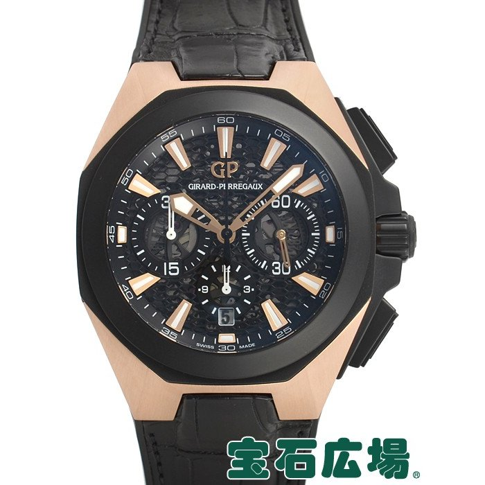 『1年保証』 ジラール・ペルゴ クロノホーク 49971-34-632-BB6C 新品 メンズ 腕時計, アウトレットツール 855aaa51