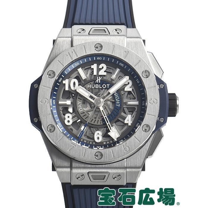 最も信頼できる ウブロ ビッグバン ウニコ チタニウム GMT 471.NX.7112.RX 新品 メンズ 腕時計, モアネット casual select 6711373b