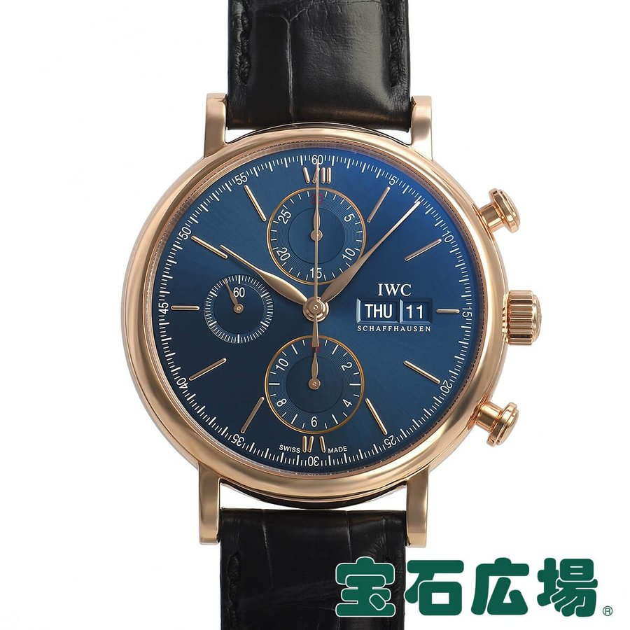 【国産】 IWC (アイ・ダブリュー・シー) ポートフィノ クロノ IW391035 新品 メンズ 腕時計, 松原市 c1e76fee