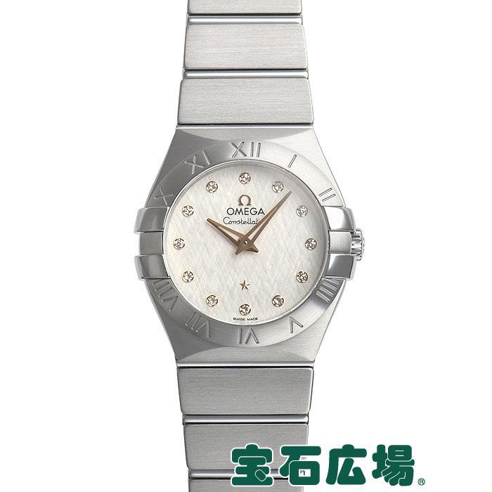 贅沢 オメガ OMEGA OMEGA オメガ コンステレーション レディース ブラッシュクォーツ 123.10.27.60.52.001 新品 レディース 腕時計, BRAND SHOP トーマス:af9a9394 --- airmodconsu.dominiotemporario.com