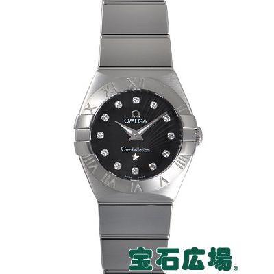 【★安心の定価販売★】 オメガ OMEGA コンステレーション ブラッシュクォーツ 123.10.24.60.51.001 新品 レディース 腕時計, バッグファクトリー 47b6bc1e