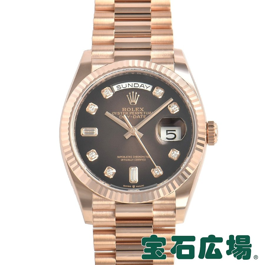 2019高い素材  ロレックス ROLEX デイデイト 36 128235A 128235A 新品 新品 メンズ 36 腕時計, ヌマクマグン:0a60bd14 --- photoboon-com.access.secure-ssl-servers.biz