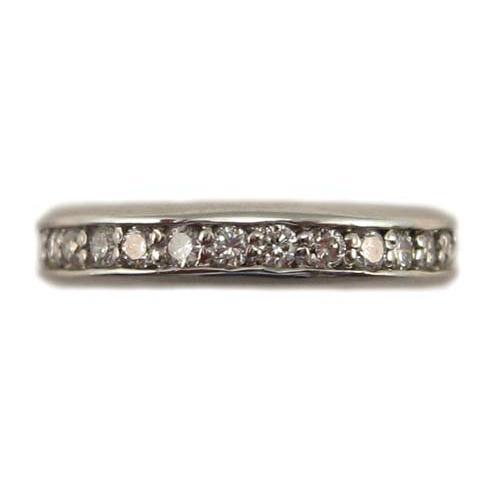 最も優遇 ダイヤモンド フルエタニティ リング プラチナ製 0.5ct, 最安 c69cee7d