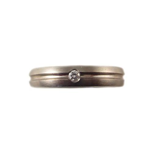 驚きの値段 ラウシュマイヤー ホワイトゴールド ダイヤモンド マリッジ リング, 北竜町 d276d8a4