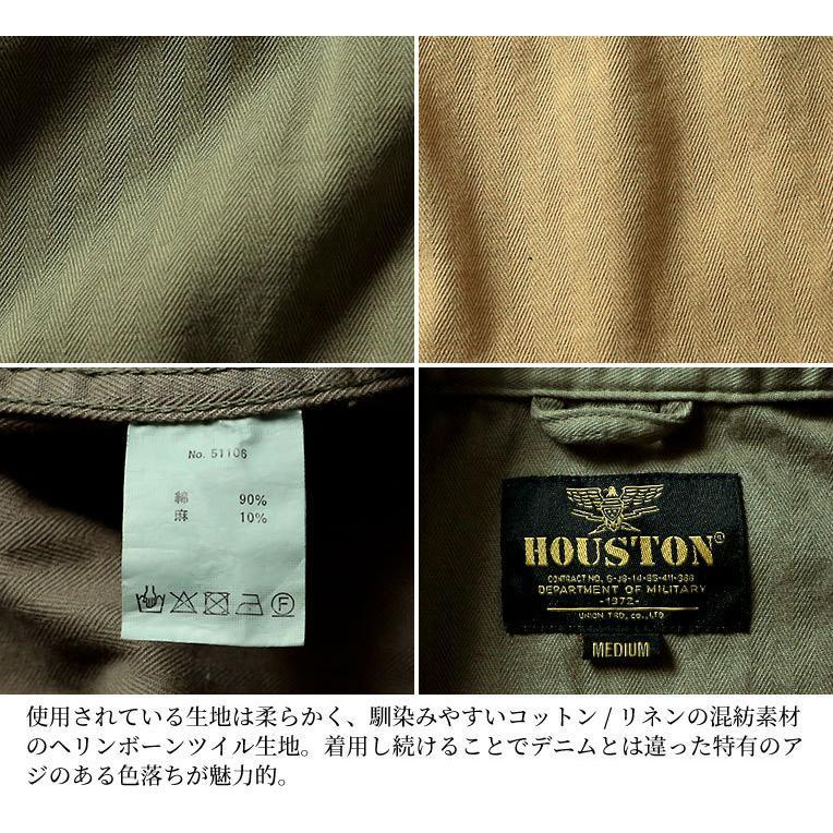 HOUSTON / ヒューストン 51106 C/L HERRINGBONE FATIGUE JACKET / ヘリンボーンツイルファティーグジャケット -全2色-|houston-1972|10