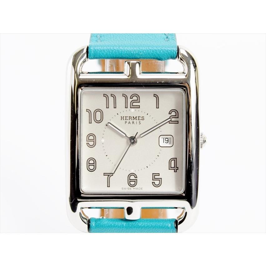 【正規品】 →□ HERMES ケープコッド 腕時計 HERMES クォーツ CC2.710 レディース 腕時計 日付 1812LA021 3針 X刻印 2016年製 エルメス 1812LA021, ライフバランス:52f06578 --- airmodconsu.dominiotemporario.com