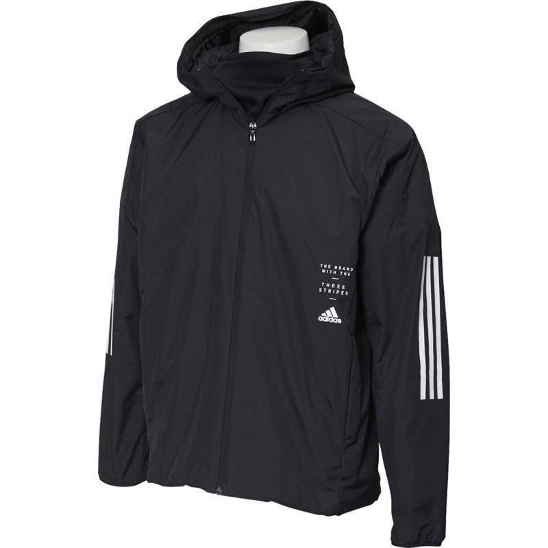 adidas(アディダス) M ID ウインドハイブリッドジャケット 中綿 メンズ FYK25 ED1900 BLK J/L