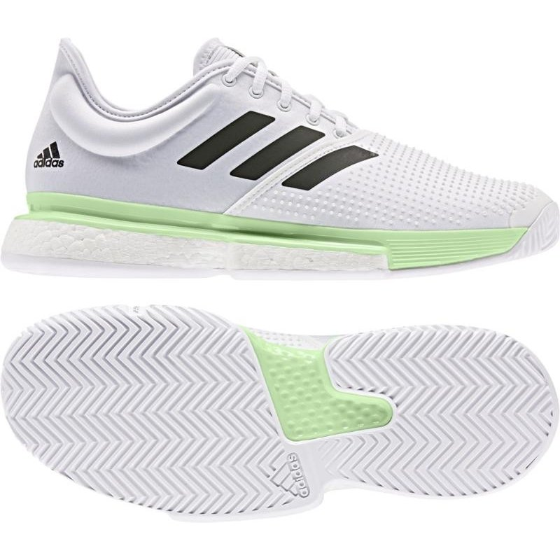 adidas(アディダス) SoleCourt Boost M EF2068 RUNWHT/コアBLK 24.5cm