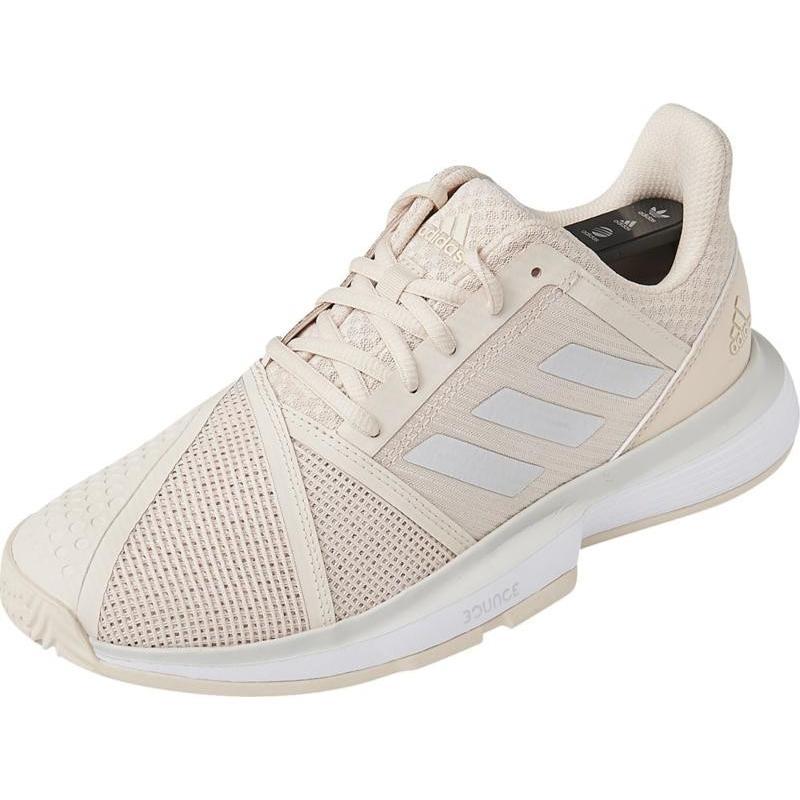 adidas(アディダス) CourtJam Bounce W G26834 リネン S17/GRYワ 22.5cm