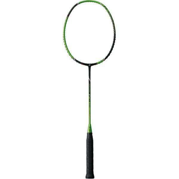 Yonex(ヨネックス) 【バドミントンラケット】 ボルトリックFB VOLTRIC FB(フレームノミ)10mmロング VTFB ブラック/グリーン 5U5