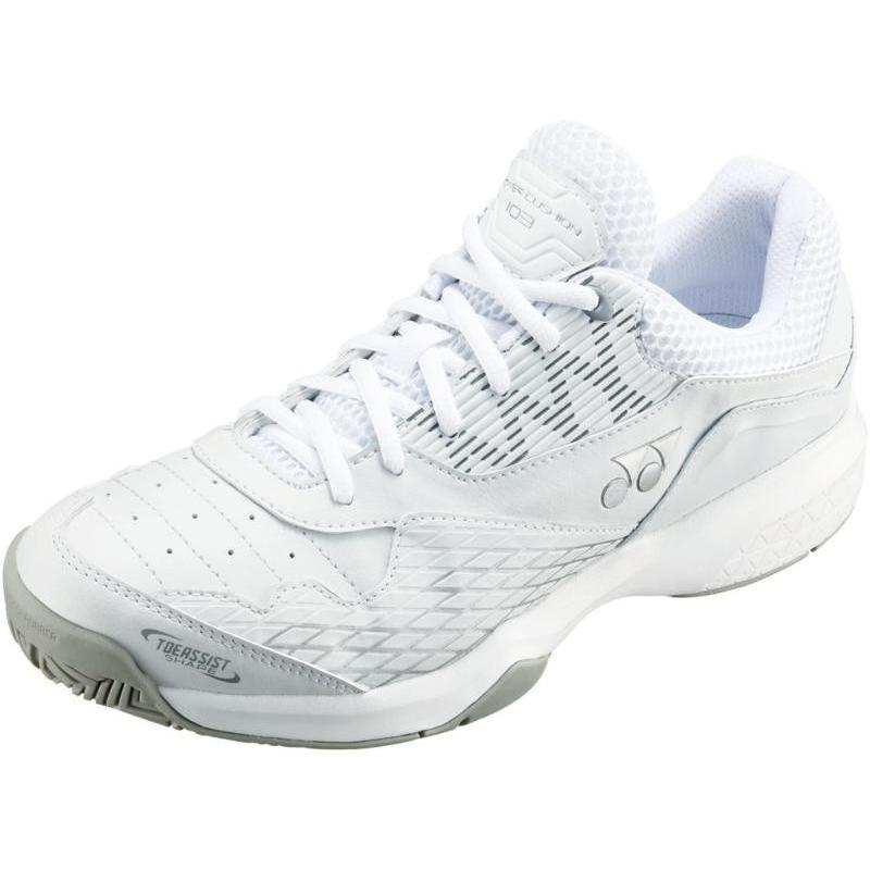 Yonex(ヨネックス) 男女兼用 クレー・砂入リ人工芝コート用テニスシューズ パワークッション103 SHT103Y ホワイト 23.0cm