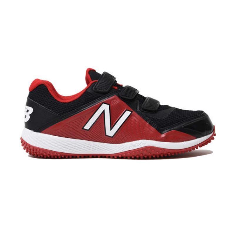 ニューバランス(New Balance) BASEBALL JT4040V4 JT4040R4 赤/黒 23.0cm