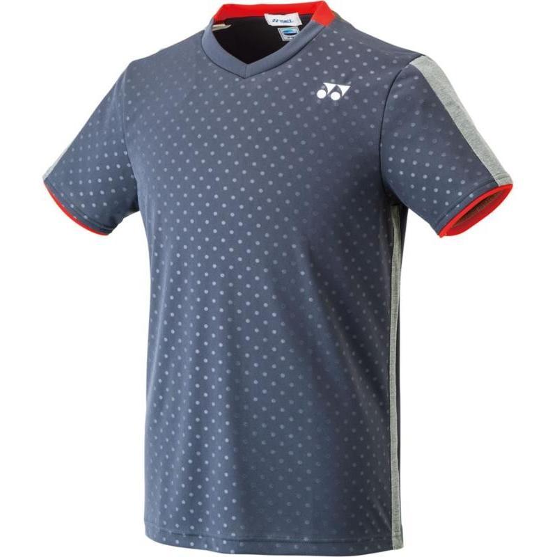 Yonex(ヨネックス) ユニセックス ゲームシャツ(フィットスタイル) 10270 チャコール M
