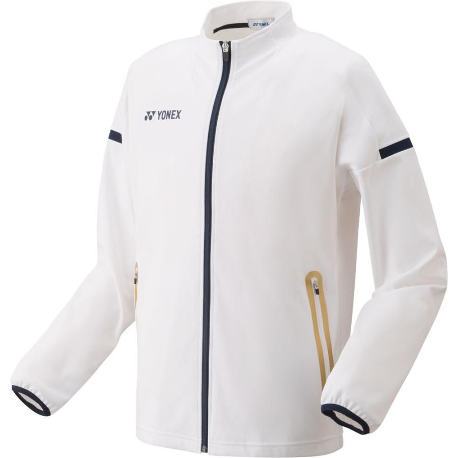 Yonex(ヨネックス) ニットウォームアップシャツ(フィットスタイル) ユニセックス 52005 ホワイト L