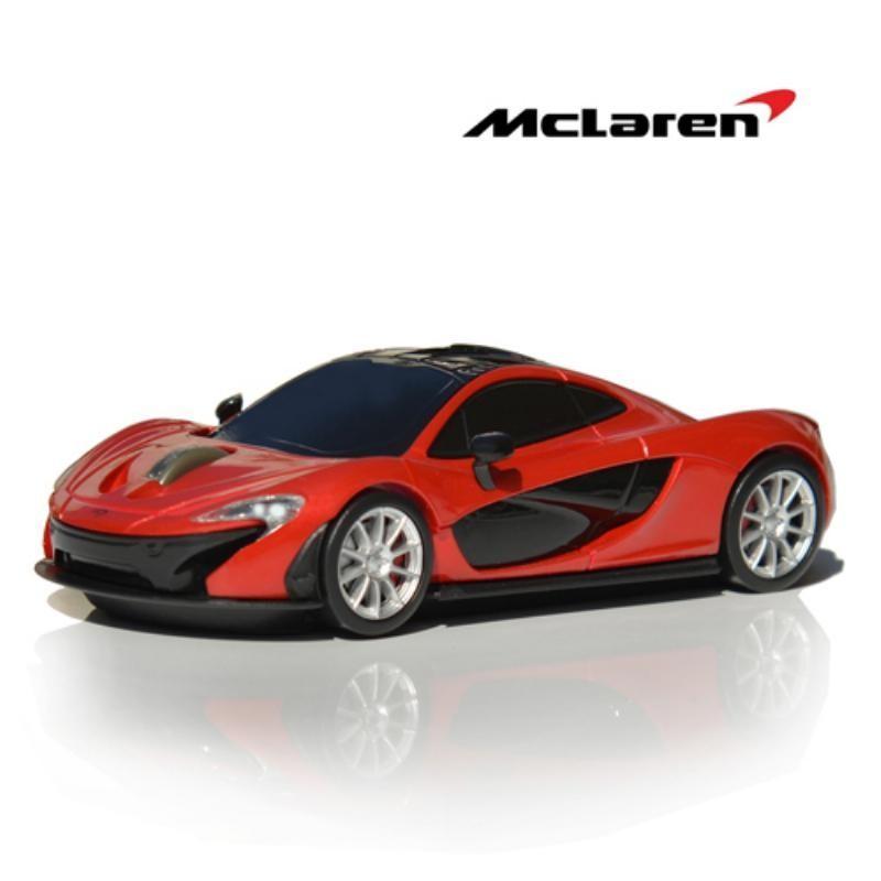 LANDMICE カーマウス マクラーレンP1 レッド 無線マウス McLaren-P1-RD【代引・日時指定・北海道沖縄離島配送不可】