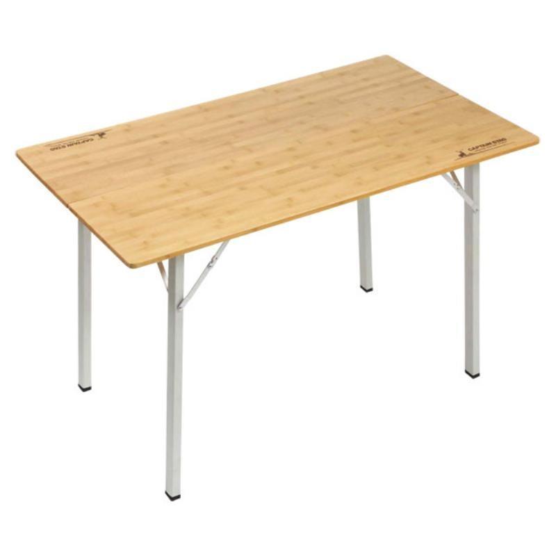 CAPTAIN STAG(キャプテンスタッグ) アルバーロ竹製フォールディングテーブル UC0502