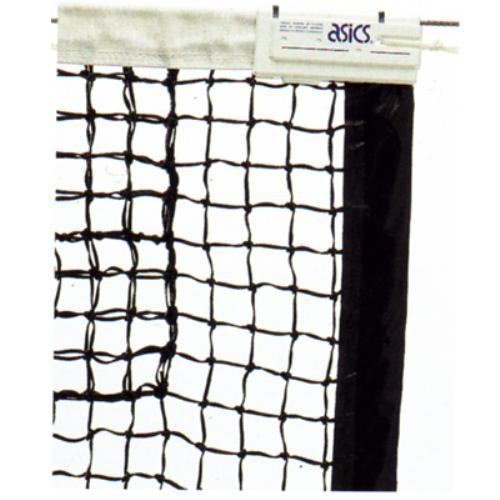 アシックス 硬式テニスネット 国際式全天候硬式テニスネット 118000 ブラック