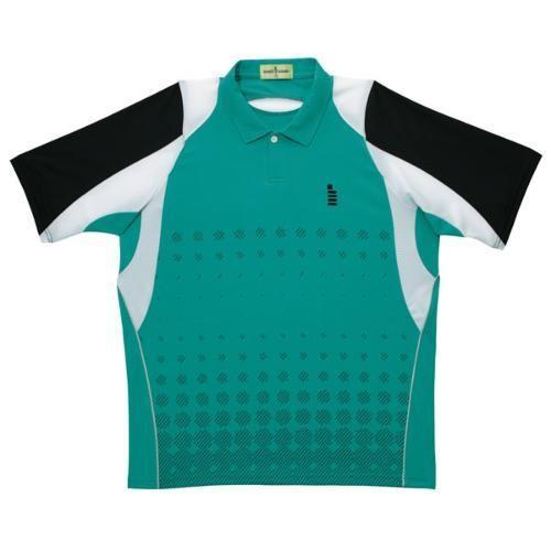 GOSEN(ゴーセン) ユニ ゲームシャツ T1412 エメラルドグリーン XL