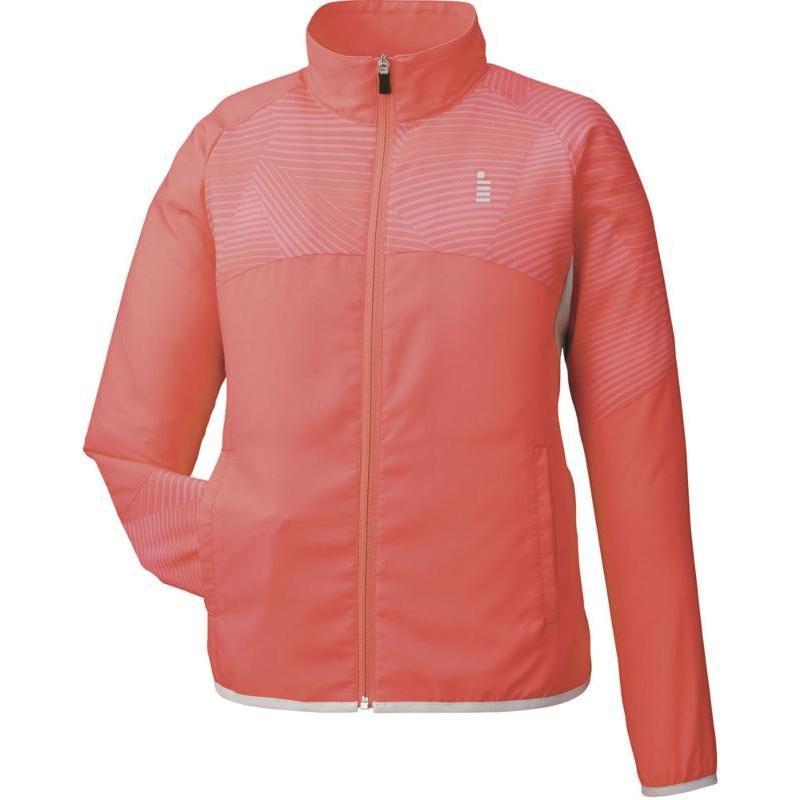 GOSEN(ゴーセン) 【レディース テニスウェア】 ライトウインドジャケット Y1701 コーラルオレンジ S