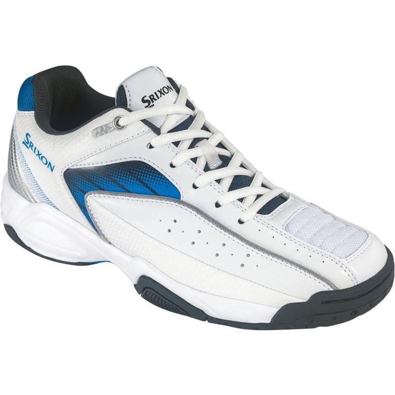 SRIXON(スリクソン) スピーザ2 オールコート ホワイト×ブルー 男女兼用 SRS670WB 25.0cm