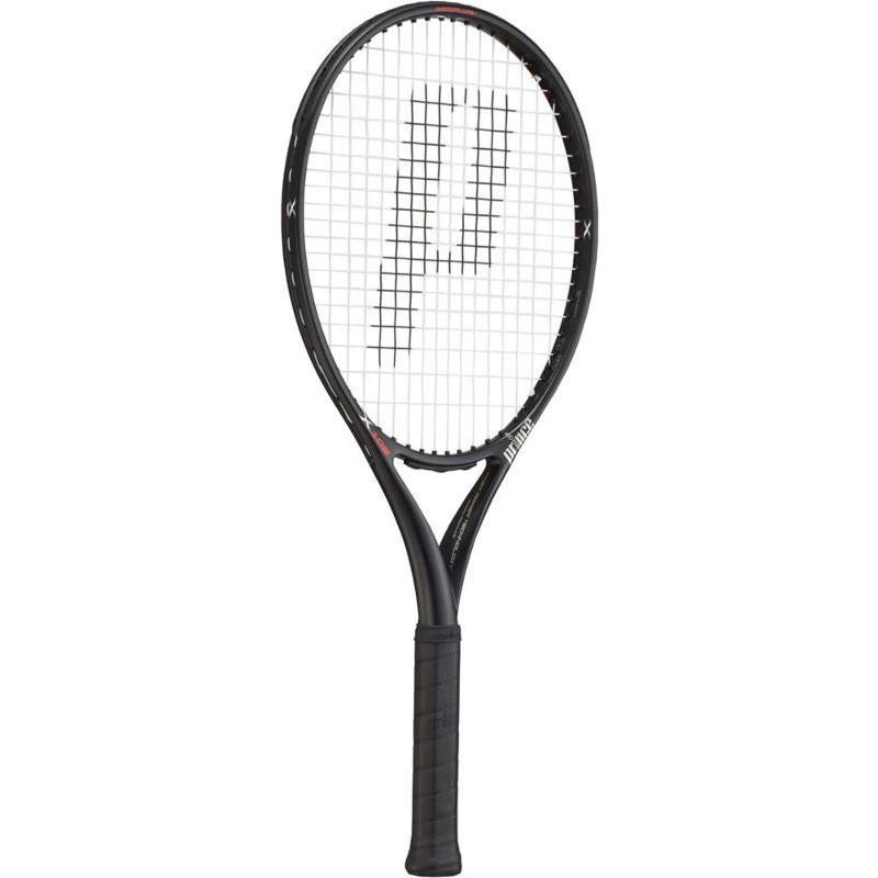 【メーカー再生品】 Prince(プリンス) テニスラケット エックス105 ブラック 270g 左利キ用 7TJ084 1, ヤスギシ 62375567