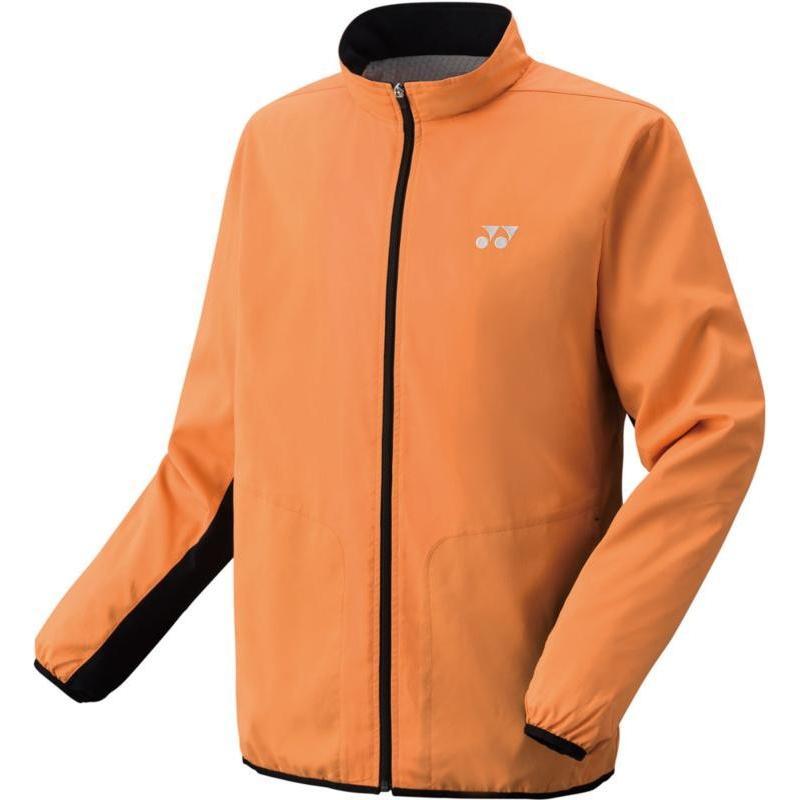 Yonex(ヨネックス) ユニセックス 裏地付ウィンドウォーマーシャツ(フィットスタイル) 70059 ブライトオレンジ M
